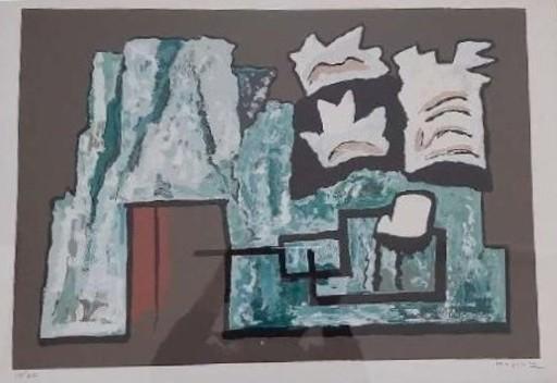 Alberto MAGNELLI - Stampa-Multiplo - Untitled