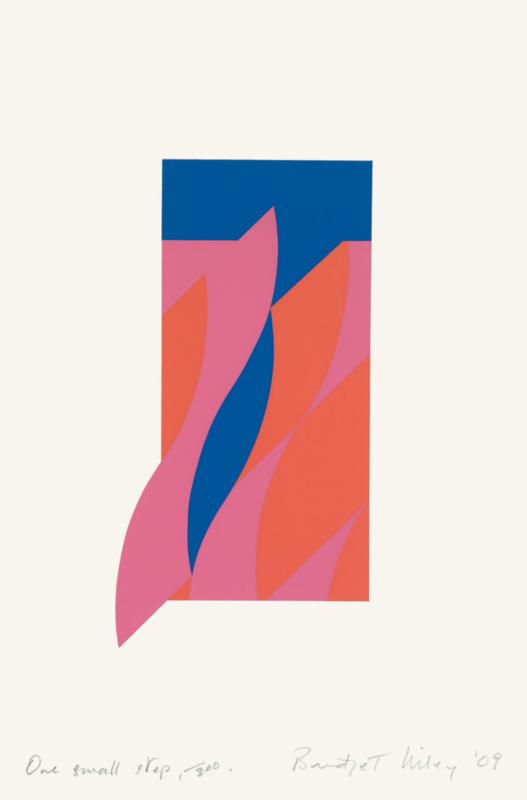 Bridget RILEY - Print-Multiple - One small step