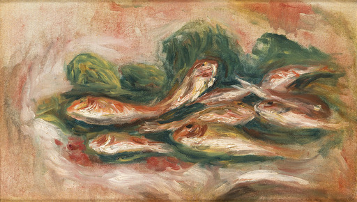 Pierre-Auguste RENOIR - Painting - Les rougets