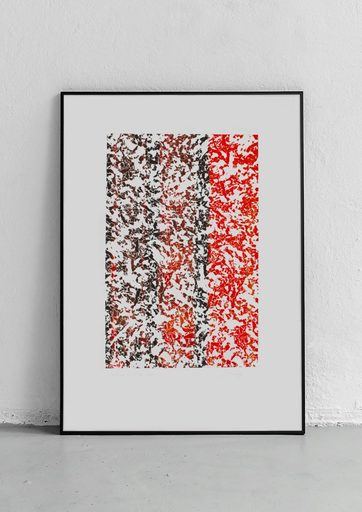 Mark DAOVANNARY - Print-Multiple - « Shattered 1 »