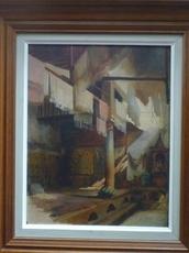 Prosper Georges Antoine MARILHAT - Peinture - Atelier de teinturier en Orient