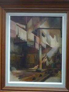 Prosper Georges Antoine MARILHAT - Painting - Atelier de teinturier en Orient