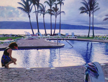 Jack MENDENHALL (1937) - Twilight at Kapalua
