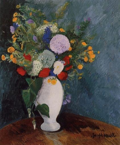 Joseph HECHT - Peinture - Bouquet of flowers