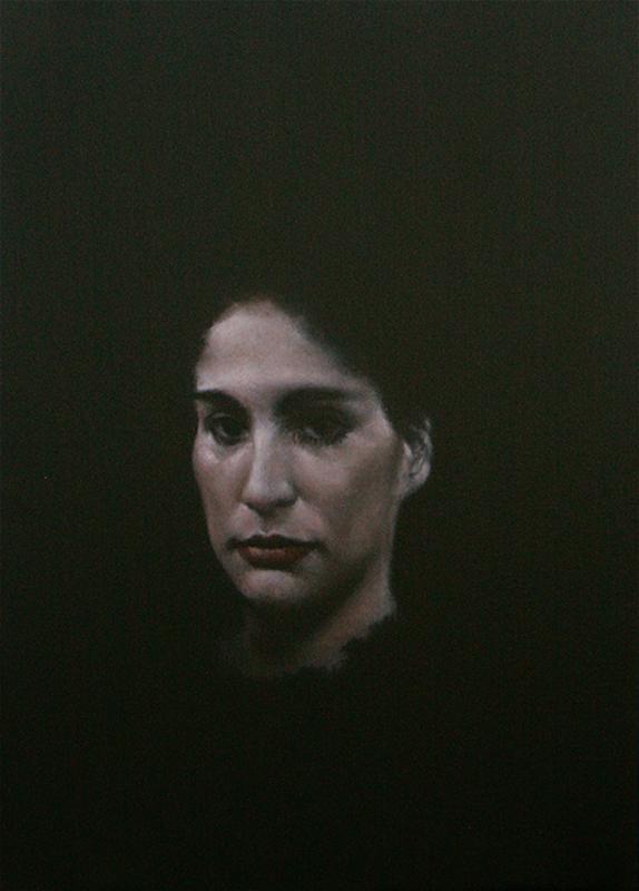 Youcef KORICHI - Pintura - Pensée II