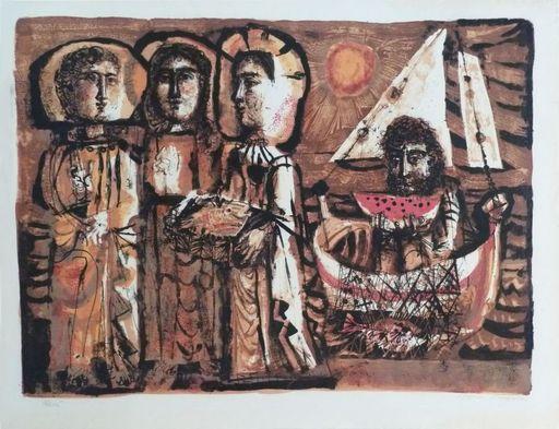 Antoni CLAVÉ - Print-Multiple - Les Saintes-Maries