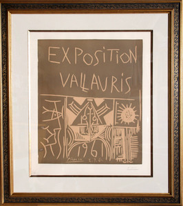 Pablo PICASSO - Print-Multiple - Exposition Vallauris