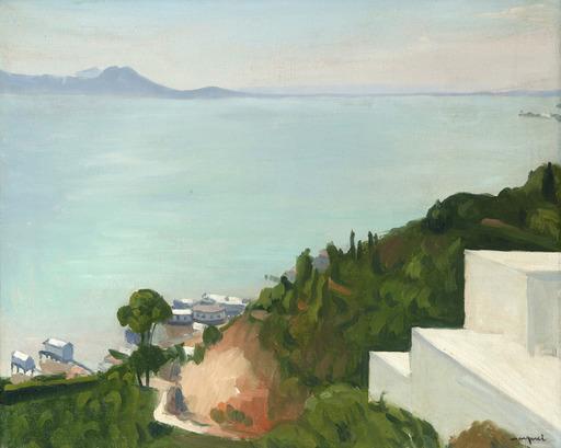 Albert MARQUET - Painting - La baie de Tunis