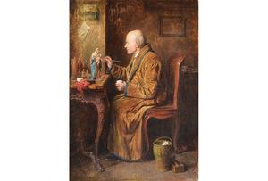 Friedrich FRIEDLÄNDER - Pintura - the restorer