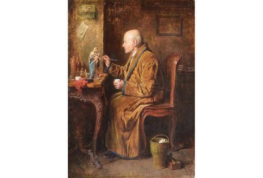 Friedrich FRIEDLÄNDER - Peinture - the restorer