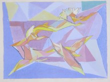 Jacques VILLON - Print-Multiple - Birds