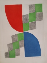 Sonia DELAUNAY-TERK - Estampe-Multiple - humanite