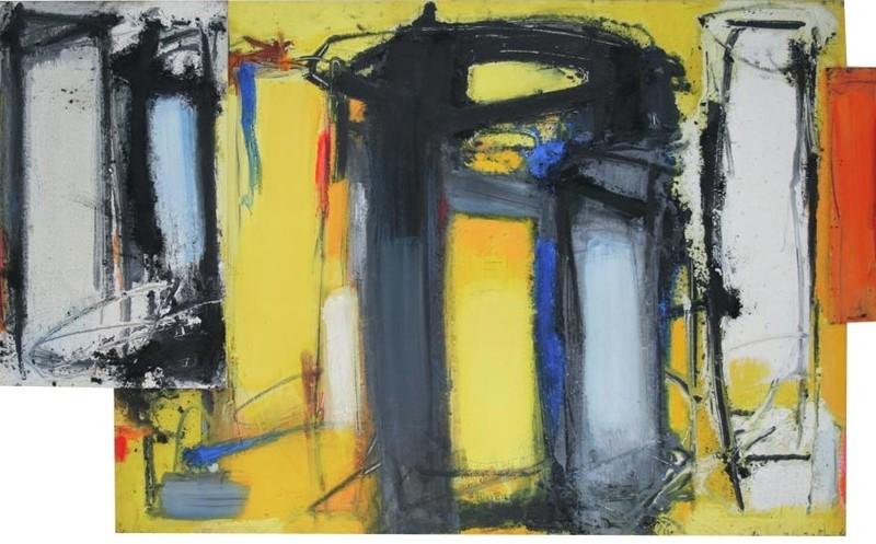 Enzo ESPOSITO - Gemälde - Senza titolo