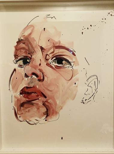 Philippe PASQUA - Gemälde - Etude