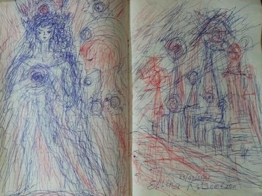 Ellina KATSNELSON - Drawing-Watercolor - Palazii