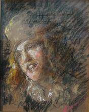 Antonio MANCINI - Pintura - Giovane con cappello