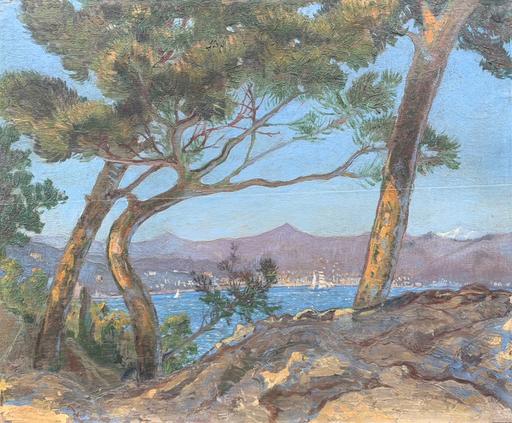 Giuseppe BODRATO - Gemälde - Golfo de La Spezia visto da Serra di Lerici