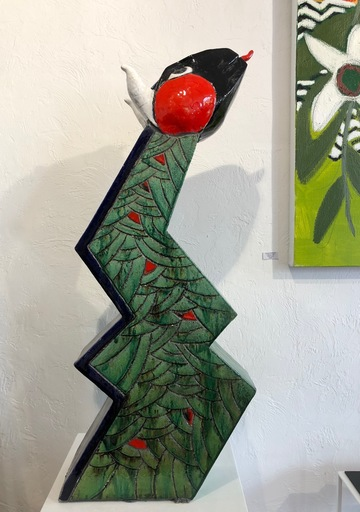 Jacky COVILLE - Ceramic - Serpent