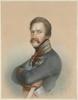 "Isidore Jean Baptiste MAGUES - Miniature - ""Archduke Albrecht of Austria"", ca. 1850, Pastel"