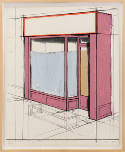 CHRISTO - Drawing-Watercolor - ROSA SCHAUFENSER PROJECT