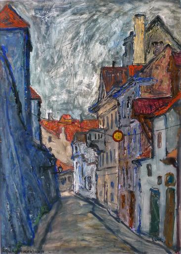 Yefim LADYZHENSKY - Pittura - Old City