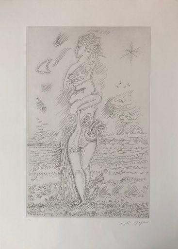 安德烈•马松 - 版画 - La jeunesse d'Isis