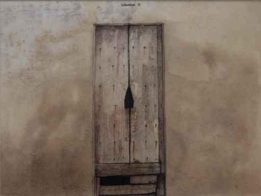 Roger Marcel WITTEVRONGEL - Pittura - Poort, Spaanse deur