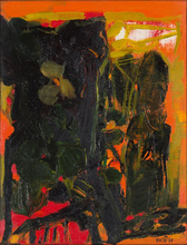 Sayed Haider RAZA - Pintura - Trees, 1969