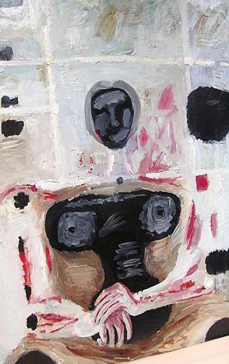 Karl KLUTH - Pintura - Die Alte aus Otricoli I