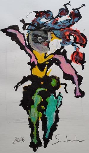 Jean-Louis SALVADORI - Pittura - SANS TITRE