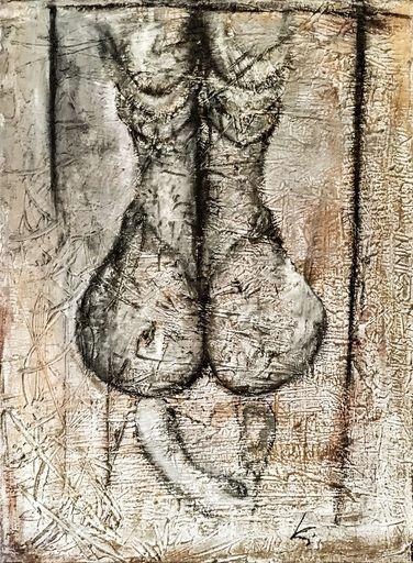 Guillaume KALT - Pintura - Assise    (Cat N° 6165)
