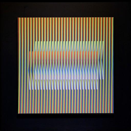"Carlos CRUZ-DIEZ - Druckgrafik-Multiple - Couleur Additive ""Serie Mayo Uno"""