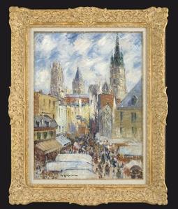 Gustave LOISEAU, Cathédrale de Rouen, Rue de l'Épicerie