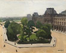阿尔伯特·马尔凯 - 绘画 - Paris, le Louvre et le Carrousel