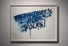 Mel BOCHNER - Stampa Multiplo - THAT'S ALL, FOLKS!
