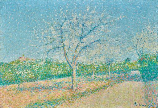 Achille LAUGÉ - Pintura - Le jardin de l'Alouette