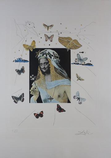 Salvador DALI - Stampa-Multiplo - Memories of Surrealism Surrealiste Portrait of Dali Surround
