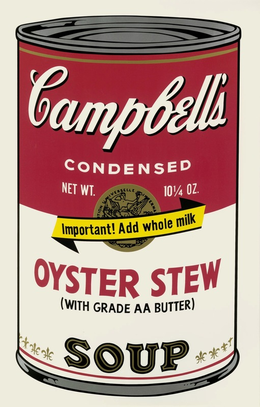 andy warhol oyster stew campbell's sou F&S.II.60