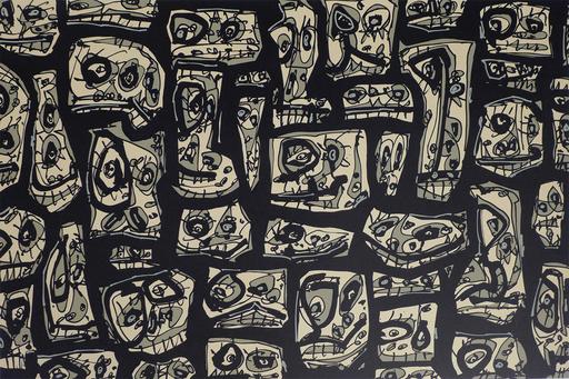 Antonio SAURA - Print-Multiple - Serie Abierta