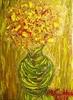 Mario CADDEO (1948) - Fiori in vaso
