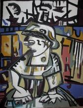 Frédérique MANLEY (1956) - Avec le temps