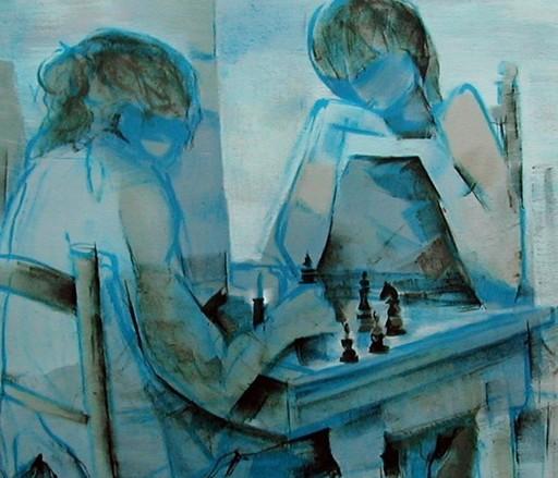 Philippe ANCELLIN - Print-Multiple - les joueurs d'Échec