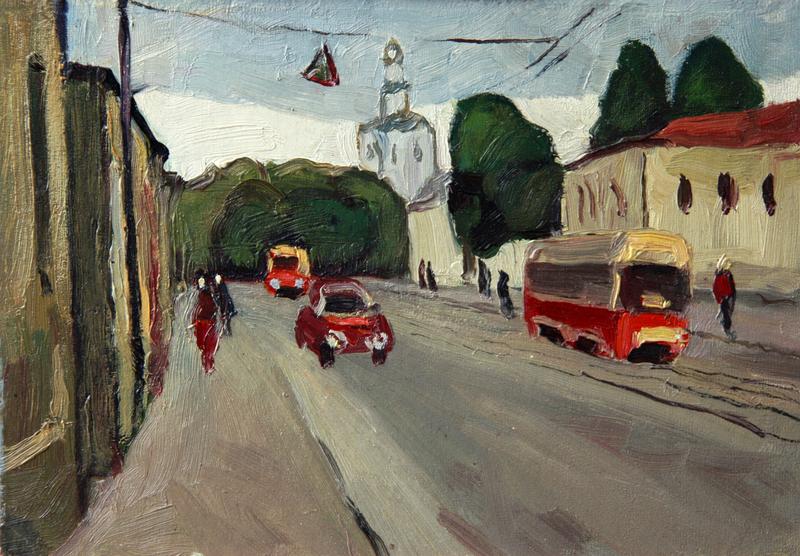 Valeriy NESTEROV - Andronievskiy lane. Moscow