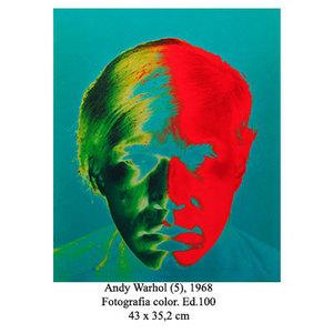 Philippe HALSMAN - Fotografia - Andy Warhol (5)