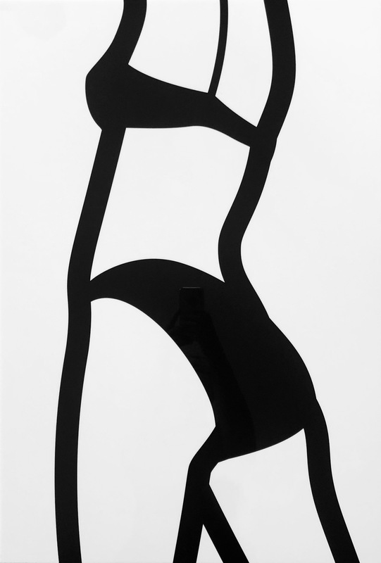 Julian OPIE - Print-Multiple - Watching Suzanne (back). 8