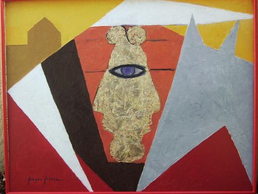 Serge SIEVIC - Peinture - CORRIDA
