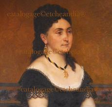 Emilie ROUILLON - Painting - Mamita- Suegra de Ulpiano Checa