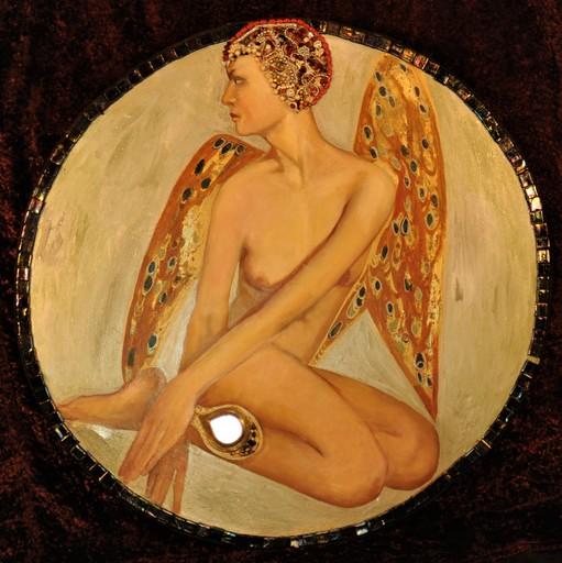 Bella MATVEEVA - Painting - Angel