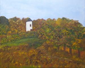 Kyna DE SCHOUEL - Peinture - Le Moulin Abandonné