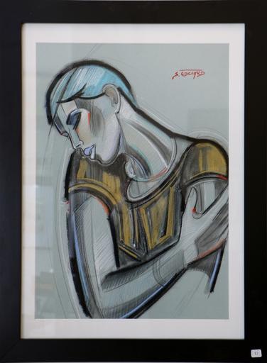 Stéphane GISCLARD - Pintura - Garçonne